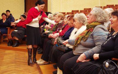 """Anželika Krikštaponienė: """"Esate mums pavyzdys, kad senatvė Kristaus malonėje gali būti šviesi"""""""
