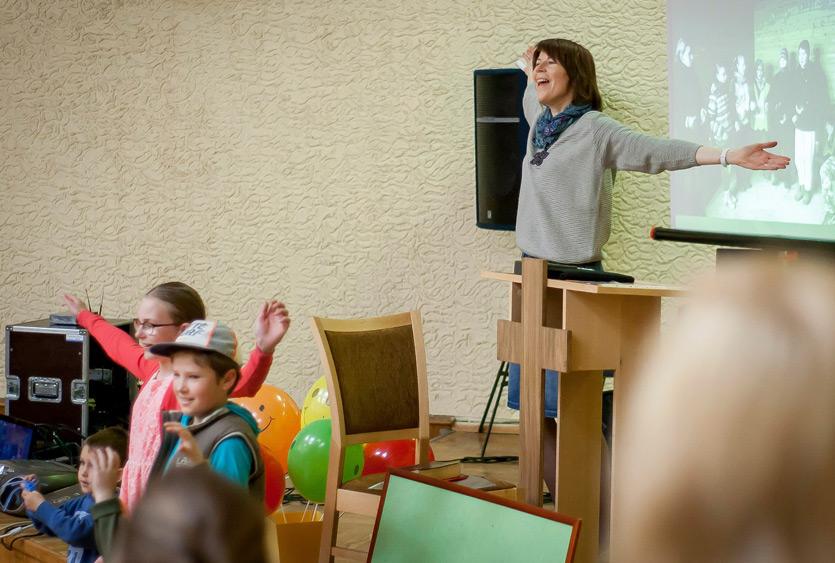Mūsų bažnyčios vaikų sekmadienio Biblijos mokykla