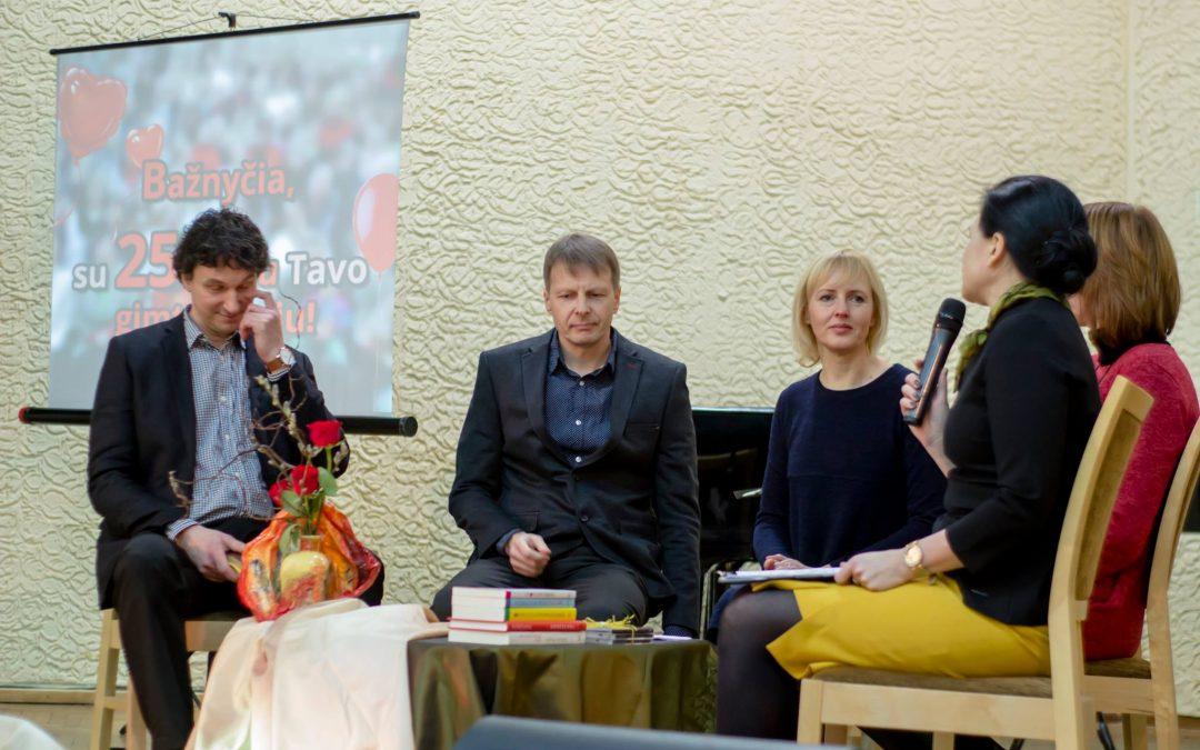 2016 02 28 | Bažnyčios 25-mečio sukaktis. Interviu