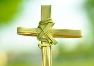 Kristus ir mes Palmių sekmadienį