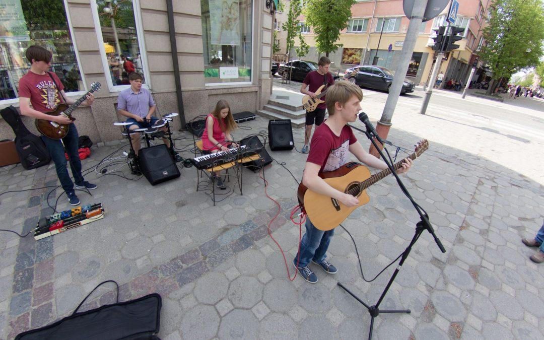 Gatvės muzikos diena Šiauliuose. Misija bulvare
