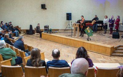 Mesijinių žydų iš Tichvinsko ir Peterburgo viešnagė mūsų bažnyčioje sekmadienio susirinkime
