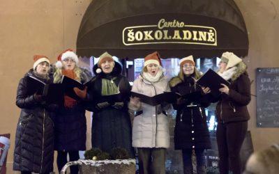 Kalėdų giesmės mieste