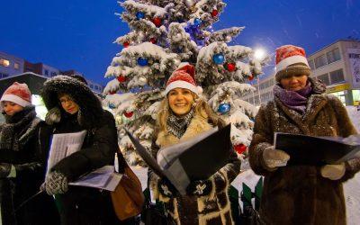 Kalėdų giesmės 2010 m. gruodžio 23 d.