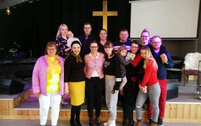 Pastorės viešnagė Norvegijos lietuvių krikščionių bendruomenėje