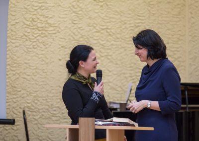 Pastorė Anželika ir Dalia Asanavičiūtė