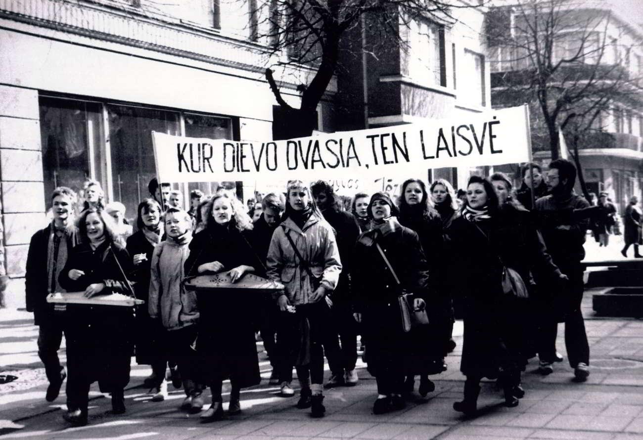 Nuotrauka Gintauto Tumulio (1991 m.)
