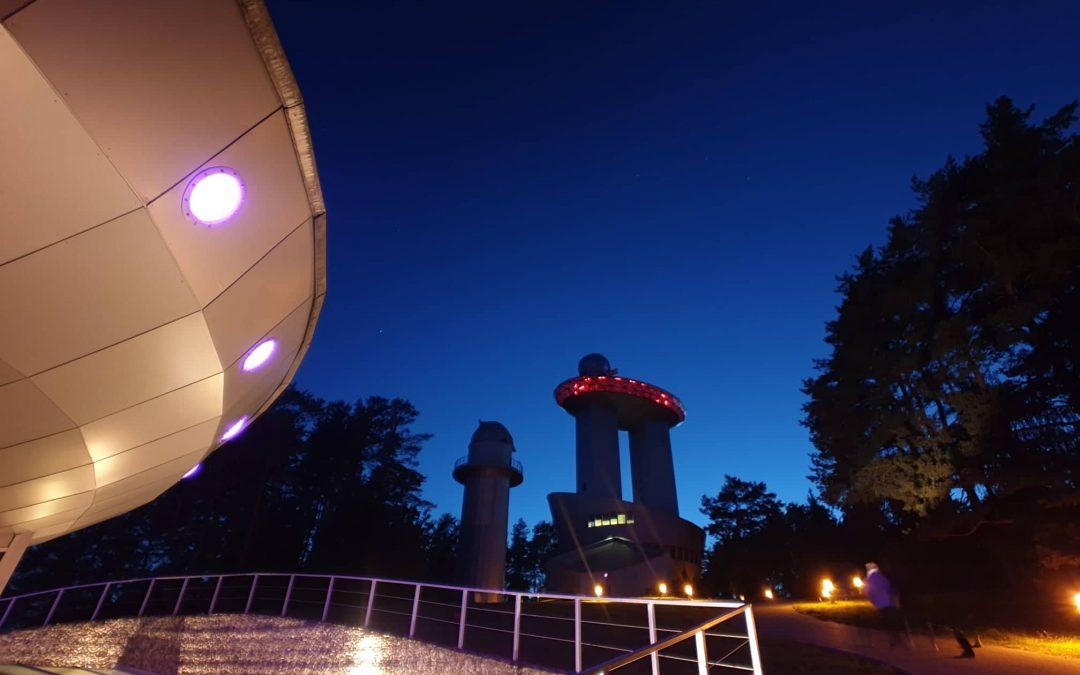 Bažnyčios kelionė / ekskursija į Molėtų observatoriją