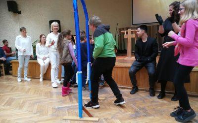 Vaikų sekmadienio Biblijos mokyklos atidarymas (Foto ir video)