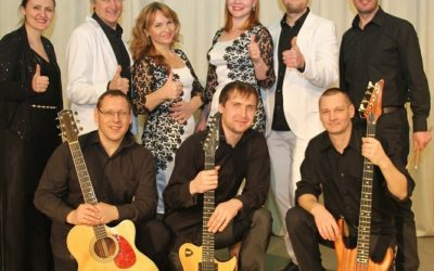 """Bažnyčioje viešės pastorius S. Martynyčev ir muzikinė grupė """"Рыб@LOVE.band"""""""