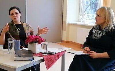 """Susitikimas-pažintis su Klaipėdos """"Vaivorykštės tako"""" gimnazijos pedagogais (vaizdo interviu)"""