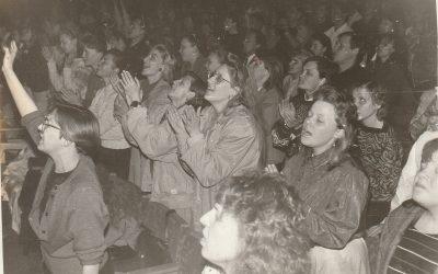 Nuotraukos iš bažnyčios paskelbimo 1991 m. vasario 24 d.