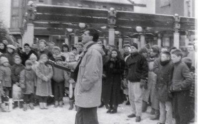 Pirmoji Evangelizacija gatvėje 1990 m. gruodis