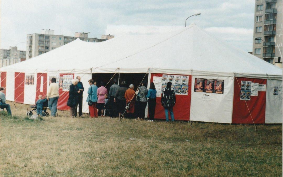 Evangelizacijos ir misija su palapine, 1994-1997 metais