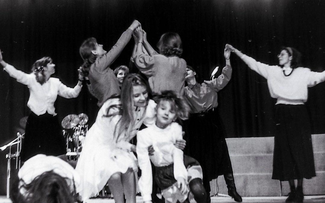Bažnyčios drama, proginiai spektakliai 1994-1997 metais