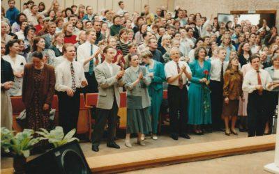 Bažnyčios renginiai ir bičiuliai 1994-1999 metais